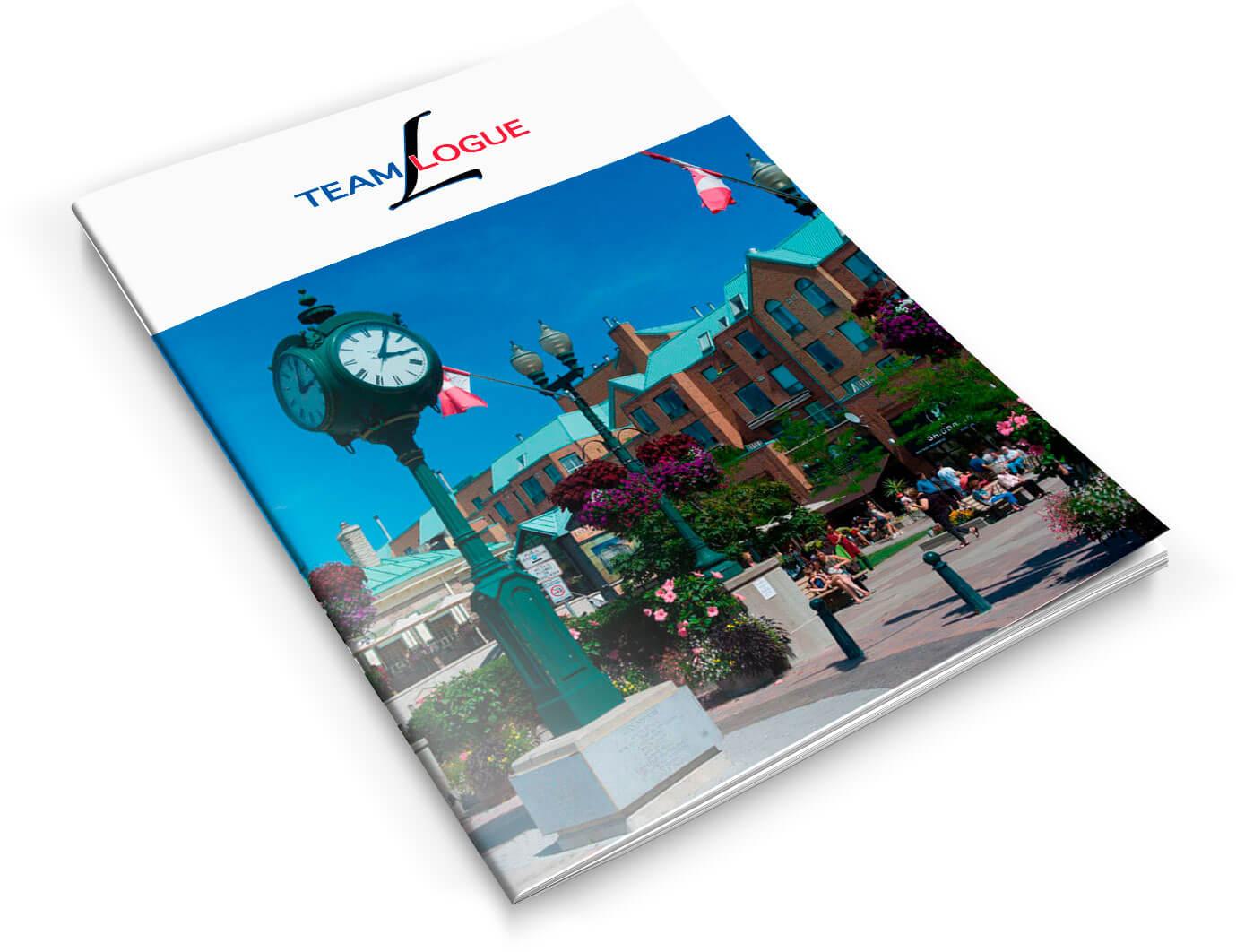 Team Logue | Burlington & Oakville real estate marketing brochure