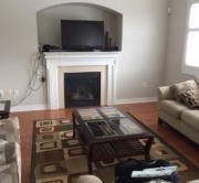 Team Logue Real Estate | Homes For Sale Burlington | Family Room 1 Before