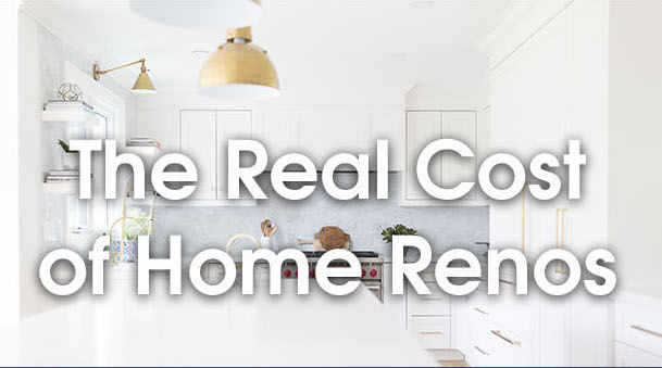 The Real Cost of Home Renos Design Event | Team Logue Burlington Real Estate