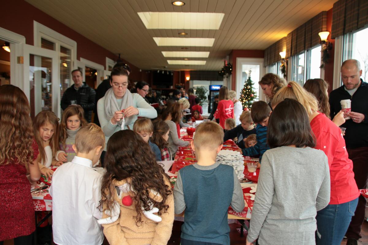 Children's Christmas Party cookie decorating | Team Logue | Burlington Real Estate